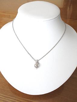 ダイヤモンド原石ペンダント